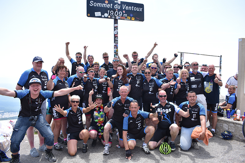 Toppers 2017 Team Mont Ventoux
